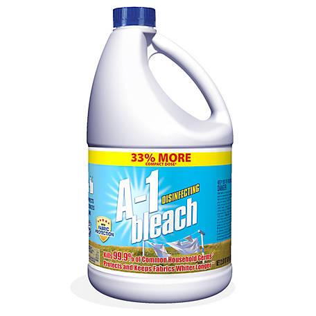Austin's A1 Regular Bleach, Concentrated Fabric Protect, 81 oz., 59647200021