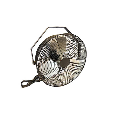 Hessaire 20 in. Black Fan, 20B4B3-S