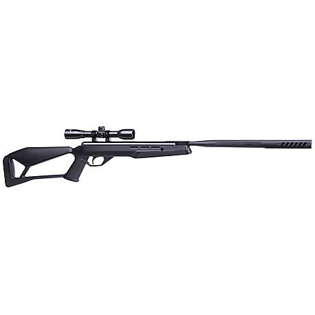 Crosman Fire with QuietFire .177 cal. Pellet Rifle with 4x32 Scope, CF7SXS