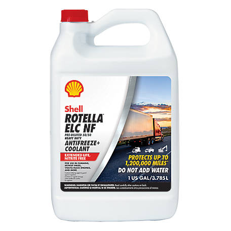 Shell Rotella Heavy Duty 50/50 Anti Freeze, 550041810