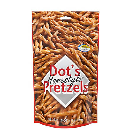 Dot's Pretzels Dusted with a Top-Secret Seasoning Blend, 3 Bags, 16 oz., 30316