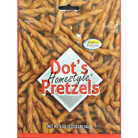 Dot's Pretzels Dusted with a Top-Secret Seasoing Blend, 10 Bags, 5 oz., 50510