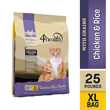 4health Original All Life Stages Dry Cat Food, 25 lb. Bag