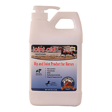 Grizzly Hip and Joint Aid for Horses, 64 Fluid oz., 060GPP-00552