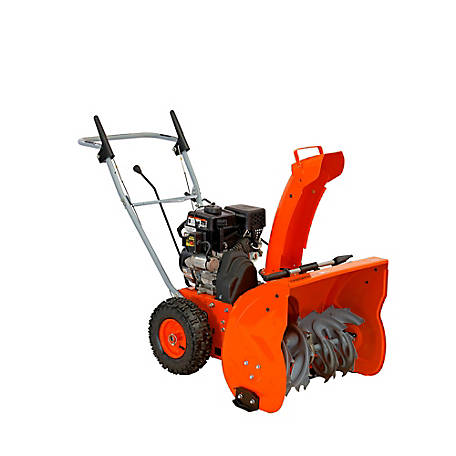YARDMAX 24 in. 208cc Two Stage Snow Blower with E-Start, YB6270