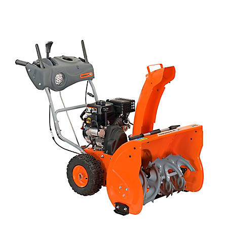 YARDMAX 26 in. Two Stage Snow Blower with E-Start, YB6770