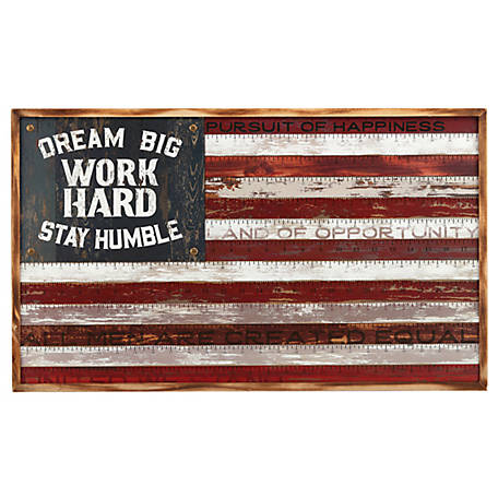 Open Road Brands ''Dream Big Work Hard Stay Humble' Ruler'