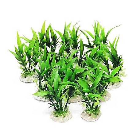 Aquatop Aquatic Plastic Aquarium Plants, 1012018