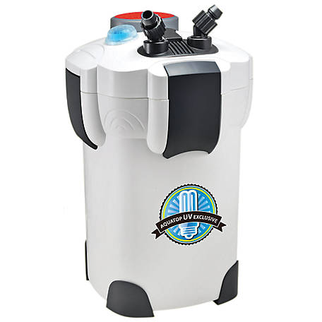 Aquatop Aquatic 4-Stage Canister Filter, 1018010