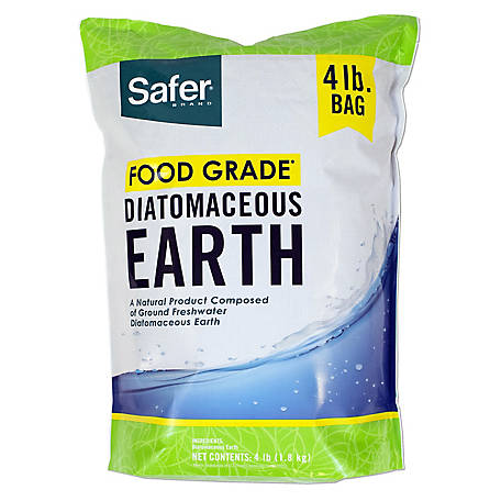 Safer Brand Food Grade Diatomaceous Earth, 4 lb., 51704