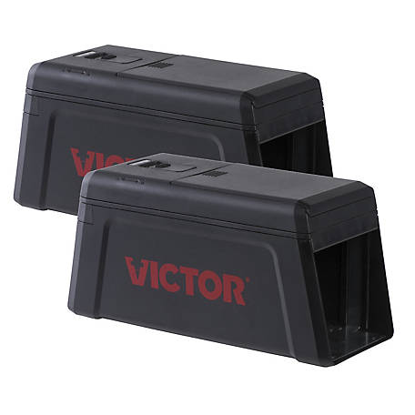 Victor Electronic Rat Trap, 2-Pack, M241SR-2