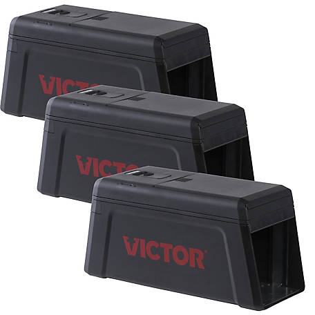 Victor Electronic Rat Trap, 3-Pack, M241SR-3