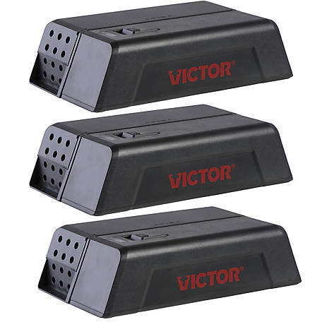 Victor Electronic Mouse Trap, 3-Pack, M250SSR-3