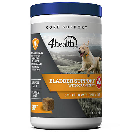 4health Bladder Support + Cranberry Soft Chew, 60 Count, 76000024