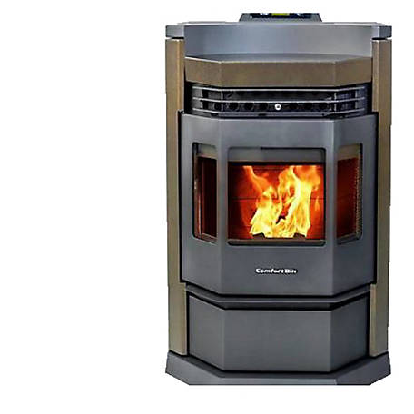 ComfortBilt HP22N Pellet Stove, Brown, HP22N-BROWN