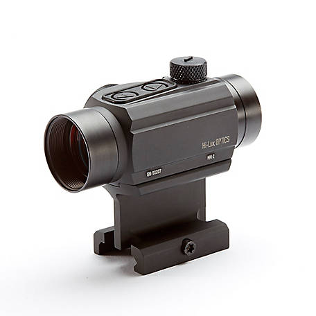 Hi-Lux Optics MM-2 Red Dot Sight, 2 MOA, MM-2-ACW