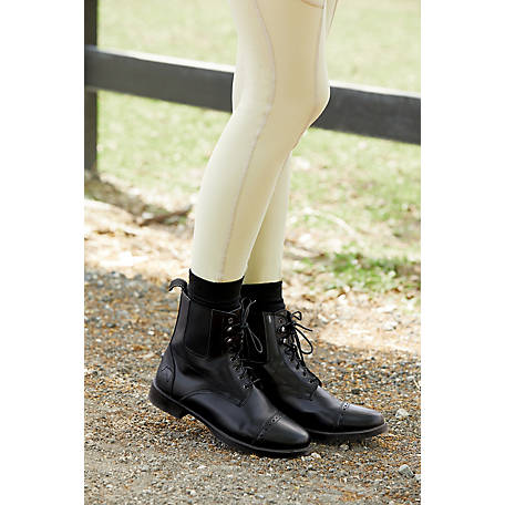 Riding Sport Girls' by Dover Saddlery Kids' Provenance Lace Paddock Boots
