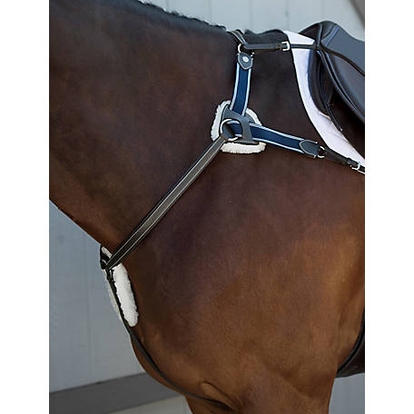 Suffolk by Dover Saddlery 5-Point Breastplate, 9456010626