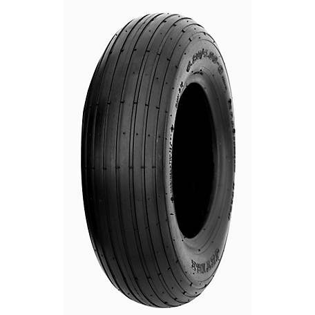 Hi-Run CT1003 Wheel Barrow Tire 4.80/4.00-8 4PR Rib, CT1003