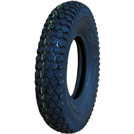 Hi-Run CT1008 Wheel Barrow Tire 4.80/4.00-8 4PR Stud, CT1008