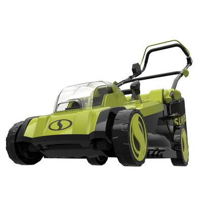 Sun Joe 48-Volt iON+ Cordless Lawn Mower, 17 in., 6-Position, Collection Bag, Tool Only, 24V-X2-17LM-CT
