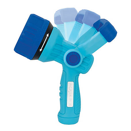 Aqua Joe Indestructible Fireman's High Pressure Hose Nozzle, 3 Selectable Settings, AJ-IFHN