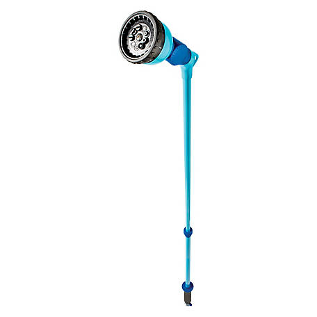 Aqua Joe Telescoping Watering Wand, 36-53 in. Extendable, 10 Spray Patterns, AJ-WW10-T59