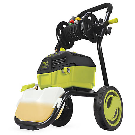 Sun Joe Sun Joe Spx4601 High Performance Electric Pressure Washer 3000 Psi Max 1 30 Gpm 20 Ft Hose Reel Spx4601 At Tractor Supply Co