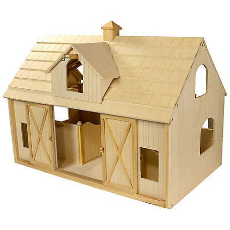 Breyer Traditional Deluxe Wood Horse Barn w/ Cupola Toy Model, 302