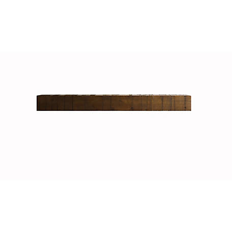 Bjorn Woodworks Midgard Wood Mantel Shelf, MANMG72