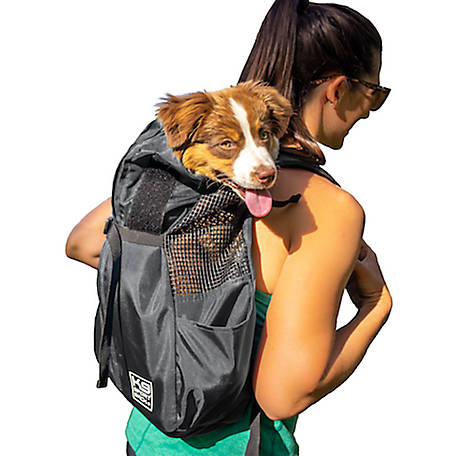 K9 Sport Sack Trainer Backpack Pet Carrier, TRAIN BLK LG