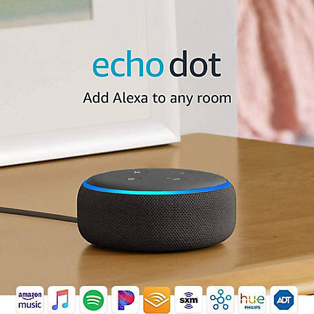 Amazon Echo Dot 3rd Gen Smart Speaker, B07FZ8S74R