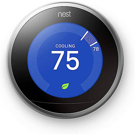 Nest Google Learning Thermostat Gen3