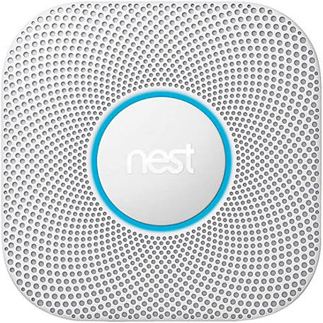 Nest Google Protect Smoke Battery and CO Alarm, S3006WBUS