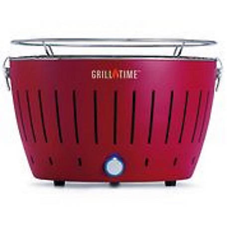 Grill Time Tailgater GT Portable Charcoal Grill with 4-AA Blower, UPG-R-13