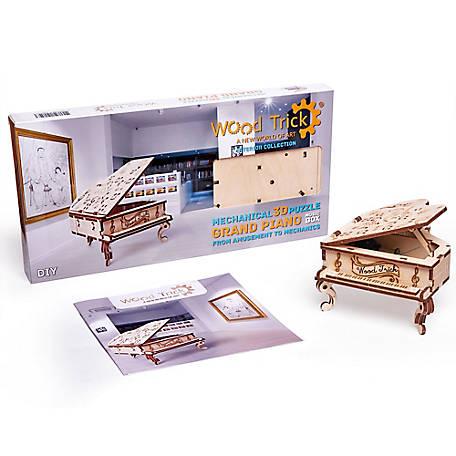 Details about  /Wooden puzzle grader handmade grader constructions machine massive beech wood