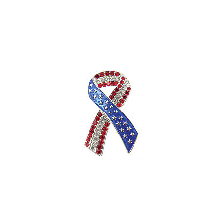 Buddy G's Patriotic Red, White and Blue Ribbon