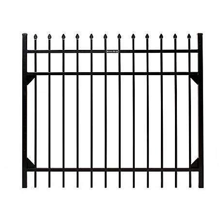 Fortress Athens Pressed Spear 5 ft. W x 4 ft. H Aluminum Gate, 413480543M