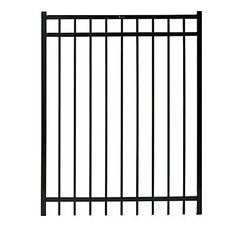 Fortress Versai 58 in. Height x 48 in. Width Steel Gate, 713580441