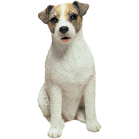 Sandicast Mid Size Jack Russell Terrier Dog Sculpture