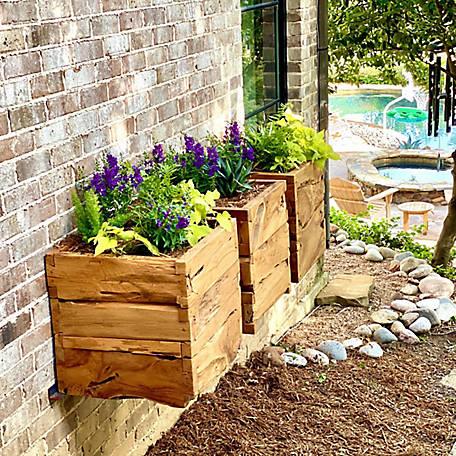 Beespoke Teak Outdoor Patio Planter Box 4588 178 At Tractor Supply Co