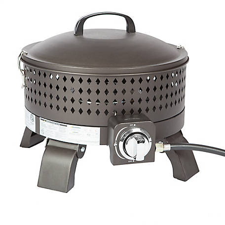 Fire Sense Sporty Campfire Portable Gas Fire Pit, 62133