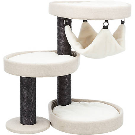 TRIXIE Pet Products Vidor Designer Cat Tower with Hammock, 44728