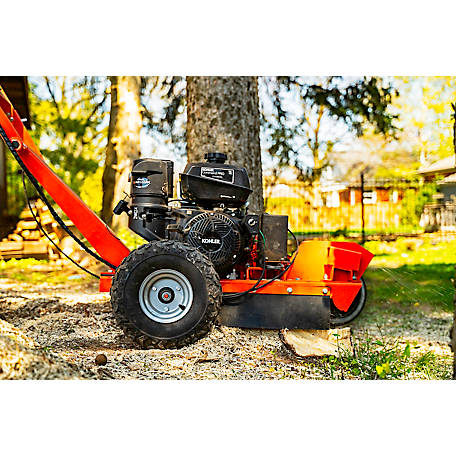 DK2 Power 12 in. x 3.5 in.14HP Stump Grinder with KOHLER CH440 Engine with Extra Set of 9 Teeth-OPG777X