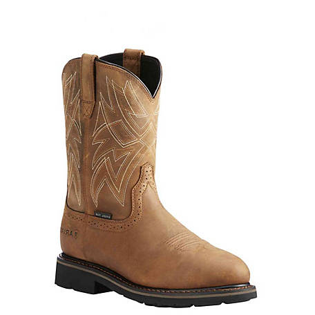 Ariat Men's Everett Waterproof Steel Toe Work Boot, 10022792
