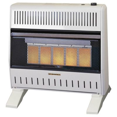 Procom Dual Fuel Ventless Infrared Gas Space Heater Blower And Base Feet 110138 At Tractor Supply Co