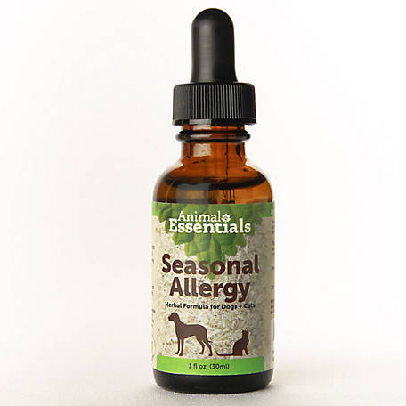 Animal Essentials Seasonal Allergy Support Herbal Formula for Cat & Dog, 1 oz., 9000717