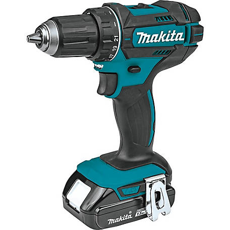 Makita 18V 1/2 in. Compact Driver Drill Kit 1.5AH, XFD10SY