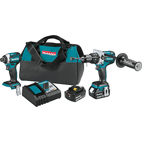 Makita 18V Brushless Cordless 2 Piece Combo Kit, XT268T