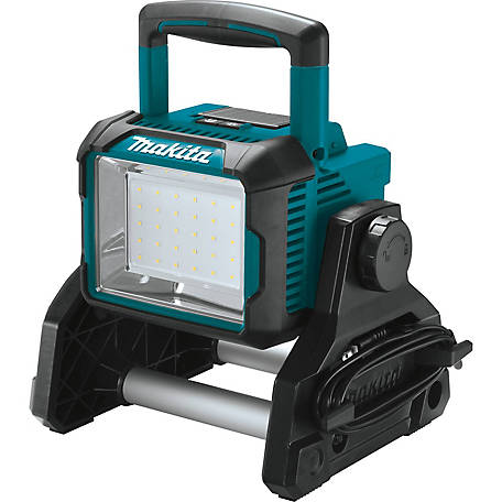 Makita 18V Lithium Ion Cordless/Corded Work Light, Light Only, DML811